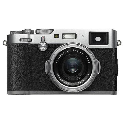 Fujifilm X-Series X100F 24.3-Megapixel Digital Camera Silver 16534584