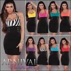 Halter Regular Size Short Sleeve Dresses for Women