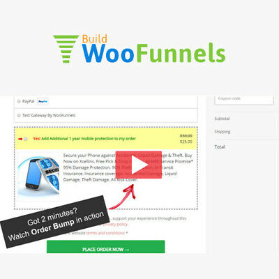 Woofunnels Order Bumps - Wordpress Plugins And Themes