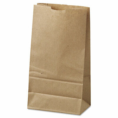 5 LB BROWN HEAVY PAPER GROCERY BAGS, , 500/PKG  5.25