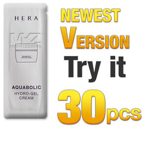 HERA Aquabolic Hydro-Gel Cream 30pcs Moisturizers Amore Pacific Newest Version