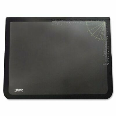 Artistic 19 X 24 Logo Pad Lift-top Desk Pad Blackclear