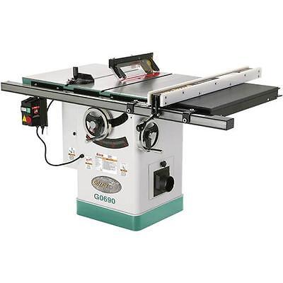 """G0690 Grizzly 10"""" 3HP 220V Cabinet Table Saw with Riving Knife for sale  Bellingham"""