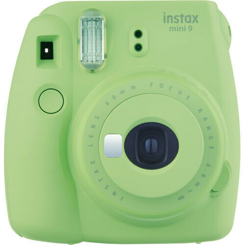 FUJIFILM INSTAX Mini 9 Instant Film Camera (Lime Green)  VG - In Retail Box