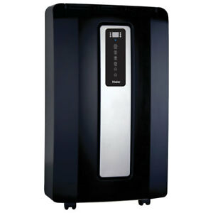 Haier Portable Air Conditioner - 14,000 BTU - Black/Silver