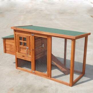 New 158cm Chicken Coop Hen house Chook Hutch Run Cage P001s Keysborough Greater Dandenong Preview