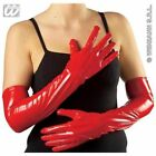 Vinyl Sexy Costume Gloves