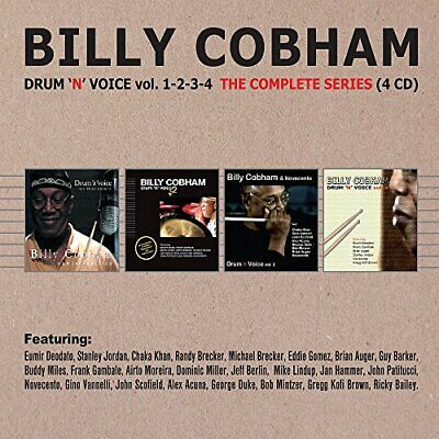Billy Cobham - Drum n Voice, Vols. 1 to 4 (The Complete...
