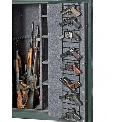 Gun Safe Door Storage Rack Organizer Shelves Hand Pistol Cabinet Shotgun Vault