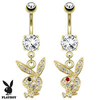 (PLAYBOY)  BELLY BUTTON RINGS