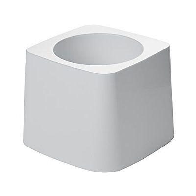 Rubbermaid FG631100 White 5-Inch Toilet Bowl Brush Holder fo