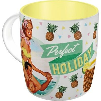 2 er Set Kaffeebecher  Perfect Holiday Retro Holiday Becher