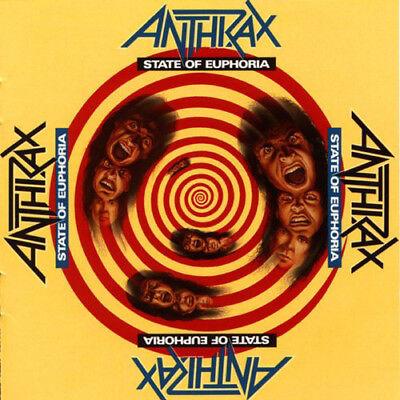 """Anthrax 'State Of Euphoria' 30th Anniversary 2x12"""" Vinyl - NEW"""