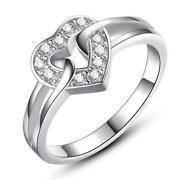 Heart Shaped Wedding Rings