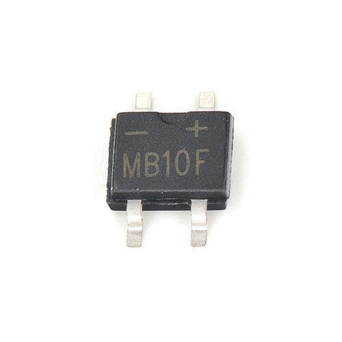100PCS MB10F 1A 1000V SOP-4 SMD Bridge Rectifier