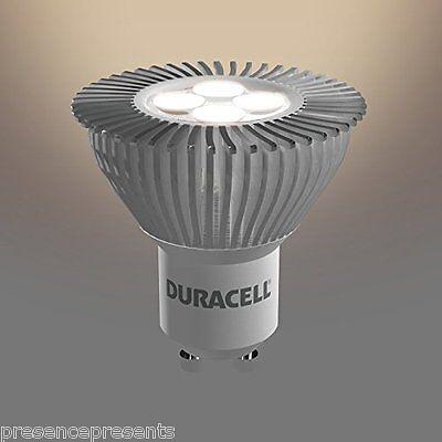 4x LED 4.5w = 50w EQUIVALENT GU10 LOW ENERGY SAVING WARM WHITE SPOT  LIGHT BULBS