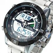 Armbanduhr Herren LED Digital