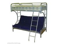 Triple Bunk Futon Bed