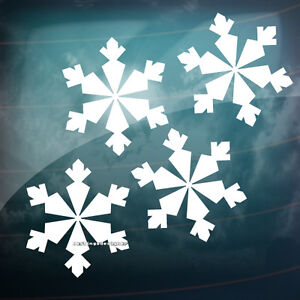 8x-SNOWFLAKE-CHRISTMAS-Xmas-Decoration-Car-Van-Window-Vinyl-Decal-Sticker