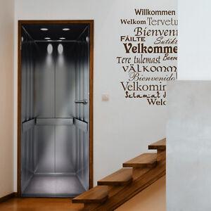 Fahrstuhl-Türtapete - Türposter   Fototapete Lift