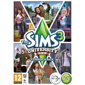 The Sims 3: University Life PC DVD & Mac Brand New