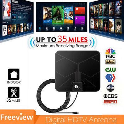 1byone Antenna TV Digital HD Skylink 4K Antena Digital Indoor HDTV 1080p UHF VHF