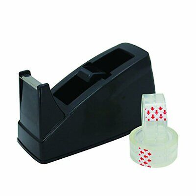 Tape Dispenser Office Desktop Holder With 10 Rolls Of 2 Inches Included Class...