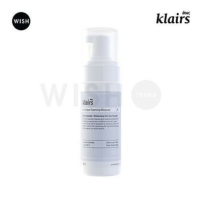 Rich Foaming Cleanser (KLAIRS Rich Moist Foaming Cleanser 100ml / Hypoallergenic low pH sensitive skin)