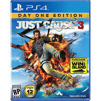 Just Cause 3 (PS4) - Sealed.