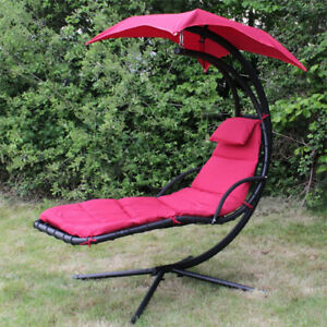 RED OR GRAY HELICOPTER CHAIR OUTDOOR CHAIR PATIO CHAIR