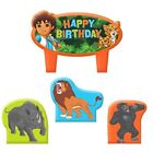 Jungle Birthday, Child Party Supply-Cake Toppers
