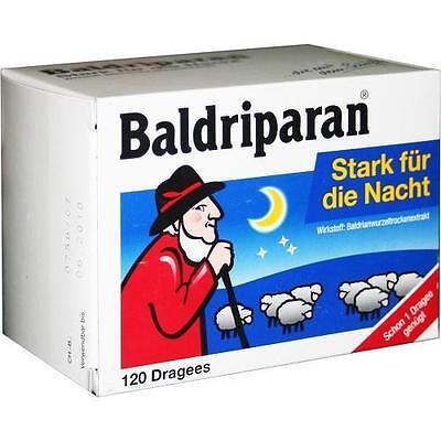 BALDRIPARAN Stark für die Nacht überzogene Tab. 120 St