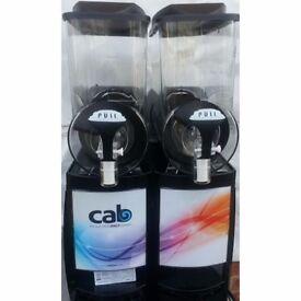 Faby cab 10ltr x 2 bowl slush machine black color, 12 months warranty, collection only, £1033+vat