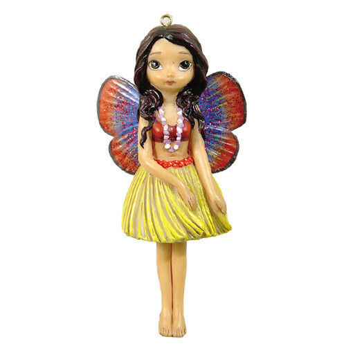 HAWAIIAN VOLCANO FAERY Fairy Ornament Jasmine Becket-Griffith Strangeling faerie
