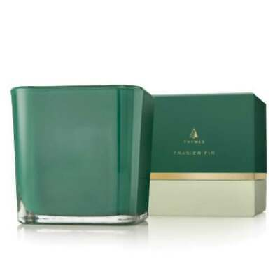 Thymes Fraiser Fir Grand Noble Large Emerald Candle -
