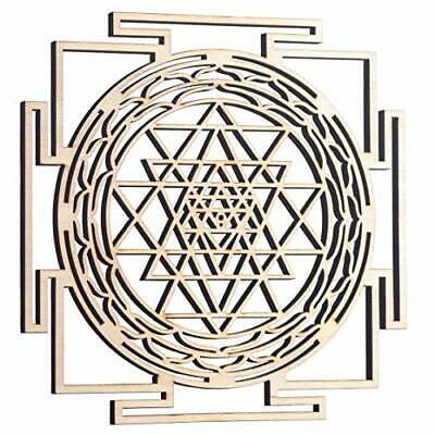 "ZenVizion 5.31"" Sri Yantra Wall Decor Mandala Sacred Geometry Wall Art Yoga D..."