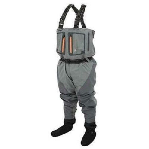 FROGG TOGGS Pilot II Breathable Stockingfoot Chest Waders Slate Gray Size XL Men