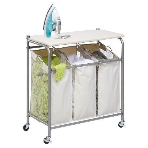 Rolling Laundry Cart Ebay