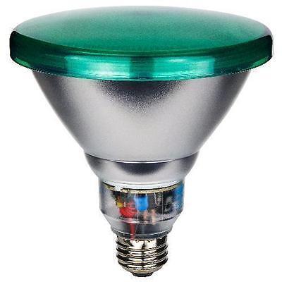 - Sunlite SL23PAR38/G 23 Watt PAR38 Energy Saving CFL Light Bulb Medium Base Green