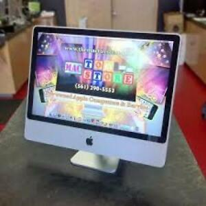 "Apple iMac All in One 20"" inch 4gig Ram 250gb Hard Webcam $349 Only"""