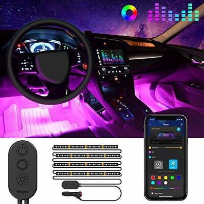 Govee Unifilar Car LED Strip Light MINGER APP Controller Car Interior Lights...