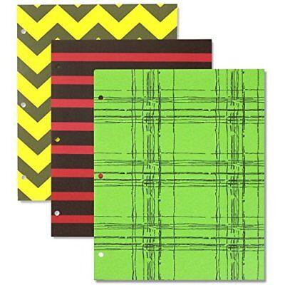 Bulk School Supplies Wholesale Lot Box of 96 Two Pocket Fun Designs Folders ](Bulk Supplies)
