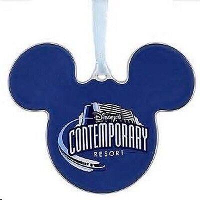 Disney World Contemporary Resort Monorail Ceramic Ornament, NEW