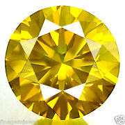 Fancy Yellow Loose Diamond