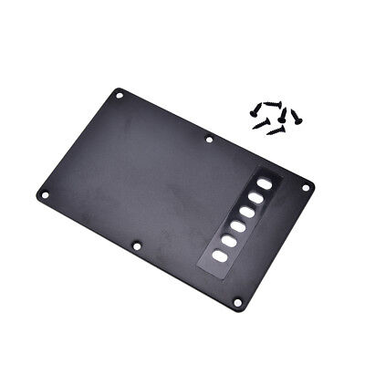 1Pc black guitar tremolo spring backplate cover for electric guitar durable RS