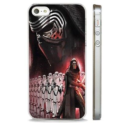 Kylo Ren Star Wars Force Awakens CLEAR PHONE CASE COVER fits iPHONE 5 6 7 8 X