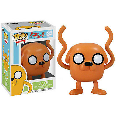 Funko Pop Television Adventure Time Jake  33 Sealed Mimb W  Case In Stock
