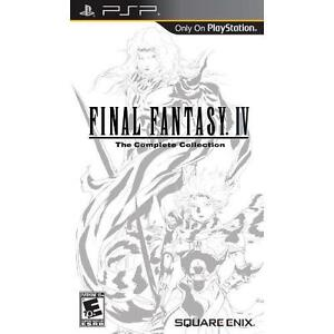 Final Fantasy IV The Complete Collection - Sony PSP New