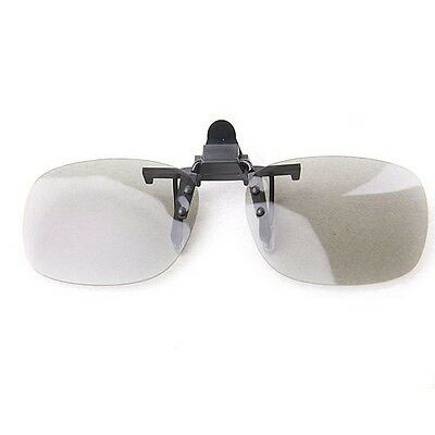 One Clip On type Passive Circular Polarized 3D Glass Clip case for VIZIO LG 3DTV