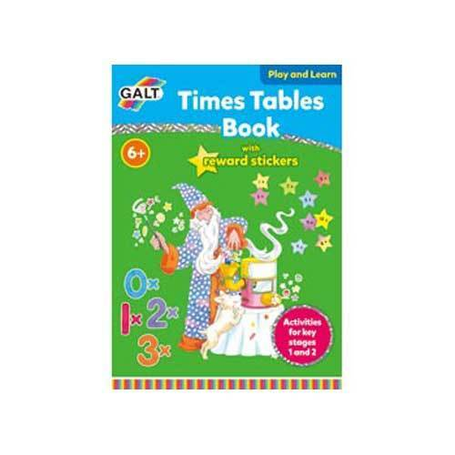 Galt – Times Tables Sticker Reward Book NEW